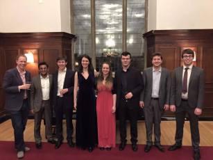 Pembroke Lieder Scheme Scholars 2014-15
